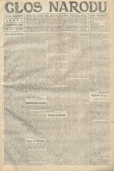 Głos Narodu (wydanie poranne). 1917, nr186
