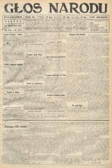 Głos Narodu (wydanie wieczorne). 1917, nr189
