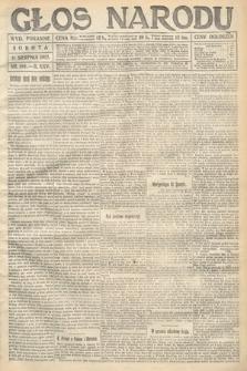 Głos Narodu (wydanie poranne). 1917, nr189