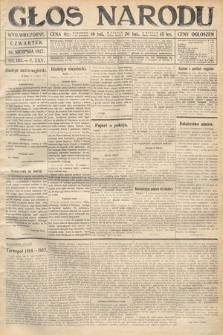 Głos Narodu (wydanie wieczorne). 1917, nr193
