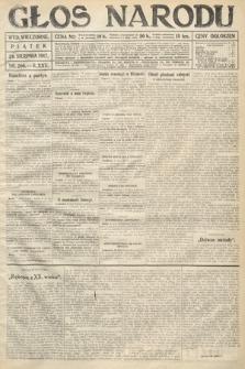 Głos Narodu (wydanie wieczorne). 1917, nr200