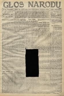 Głos Narodu (wydanie poranne). 1917, nr200