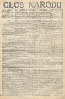 Głos Narodu (wydanie poranne). 1917, nr201