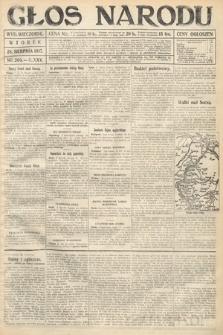 Głos Narodu (wydanie wieczorne). 1917, nr203