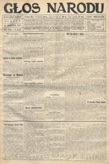 Głos Narodu (wydanie wieczorne). 1917, nr206
