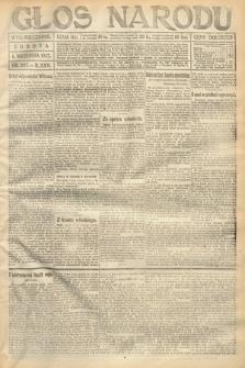 Głos Narodu (wydanie wieczorne). 1917, nr207