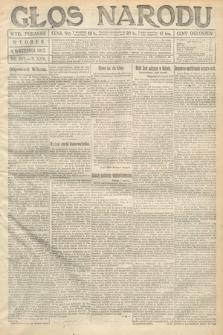 Głos Narodu (wydanie poranne). 1917, nr208