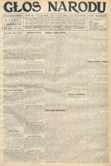 Głos Narodu (wydanie wieczorne). 1917, nr209