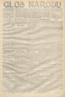 Głos Narodu (wydanie wieczorne). 1917, nr212