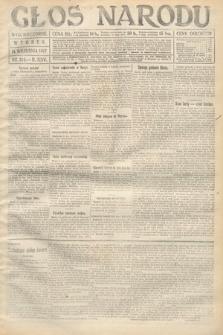 Głos Narodu (wydanie wieczorne). 1917, nr214