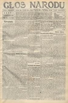 Głos Narodu (wydanie poranne). 1917, nr214