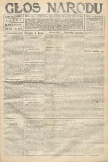Głos Narodu (wydanie wieczorne). 1917, nr215
