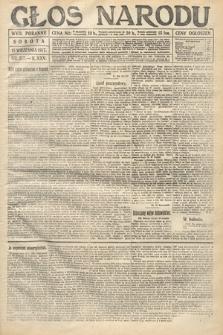 Głos Narodu (wydanie poranne). 1917, nr217