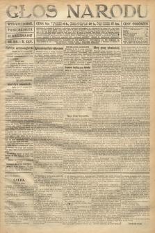 Głos Narodu (wydanie wieczorne). 1917, nr219