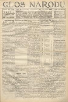 Głos Narodu (wydanie poranne). 1917, nr220