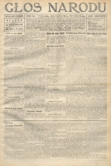 Głos Narodu (wydanie wieczorne). 1917, nr223
