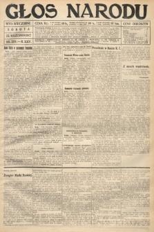 Głos Narodu (wydanie wieczorne). 1917, nr224