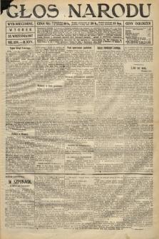 Głos Narodu (wydanie wieczorne). 1917, nr226