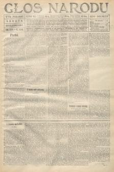 Głos Narodu (wydanie poranne). 1917, nr229