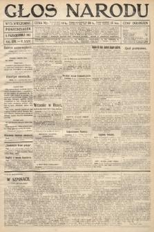 Głos Narodu (wydanie wieczorne). 1917, nr231