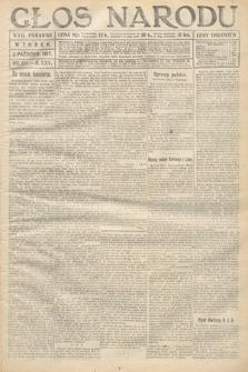 Głos Narodu (wydanie poranne). 1917, nr231