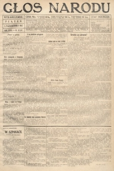 Głos Narodu (wydanie wieczorne). 1917, nr235
