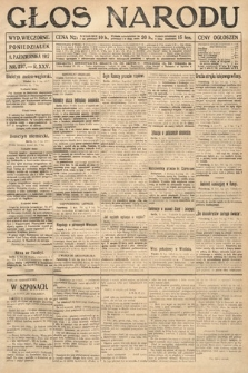 Głos Narodu (wydanie wieczorne). 1917, nr237