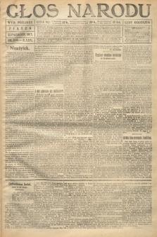 Głos Narodu (wydanie poranne). 1917, nr240