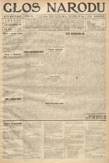 Głos Narodu (wydanie wieczorne). 1917, nr242