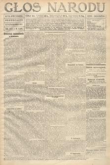Głos Narodu (wydanie wieczorne). 1917, nr243