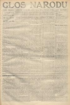 Głos Narodu (wydanie poranne). 1917, nr245