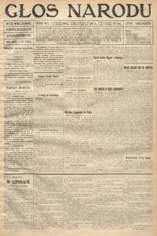 Głos Narodu (wydanie wieczorne). 1917, nr249