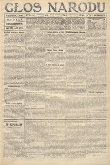 Głos Narodu (wydanie wieczorne). 1917, nr250