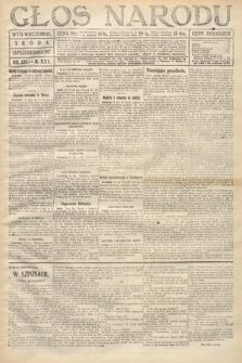 Głos Narodu (wydanie wieczorne). 1917, nr251