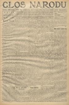 Głos Narodu (wydanie poranne). 1917, nr252