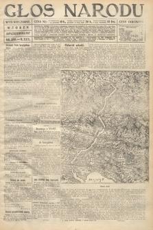 Głos Narodu (wydanie wieczorne). 1917, nr256