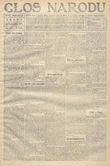 Głos Narodu (wydanie poranne). 1917, nr256