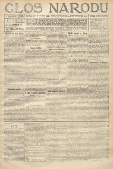 Głos Narodu (wydanie wieczorne). 1917, nr259