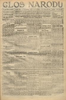 Głos Narodu (wydanie wieczorne). 1917, nr260