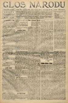 Głos Narodu (wydanie wieczorne). 1917, nr271
