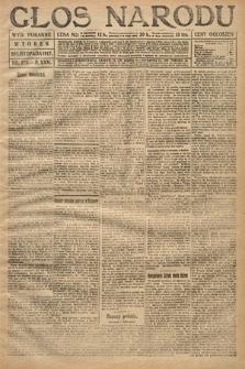 Głos Narodu (wydanie poranne). 1917, nr272