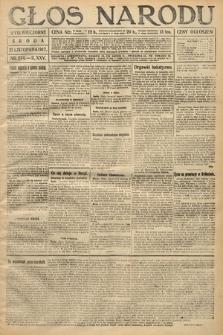 Głos Narodu (wydanie wieczorne). 1917, nr274