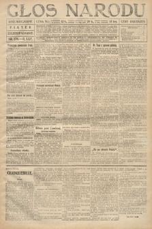 Głos Narodu (wydanie wieczorne). 1917, nr276