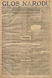 Głos Narodu (wydanie poranne). 1917, nr276