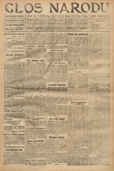 Głos Narodu (wydanie wieczorne). 1917, nr278
