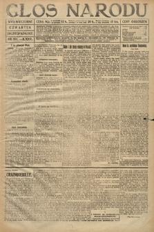 Głos Narodu (wydanie wieczorne). 1917, nr281