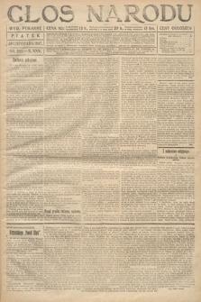 Głos Narodu (wydanie poranne). 1917, nr281