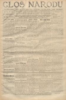 Głos Narodu (wydanie wieczorne). 1917, nr282