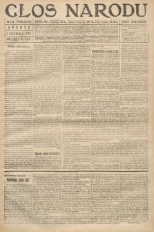 Głos Narodu (wydanie poranne). 1917, nr282