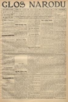 Głos Narodu (wydanie wieczorne). 1917, nr283